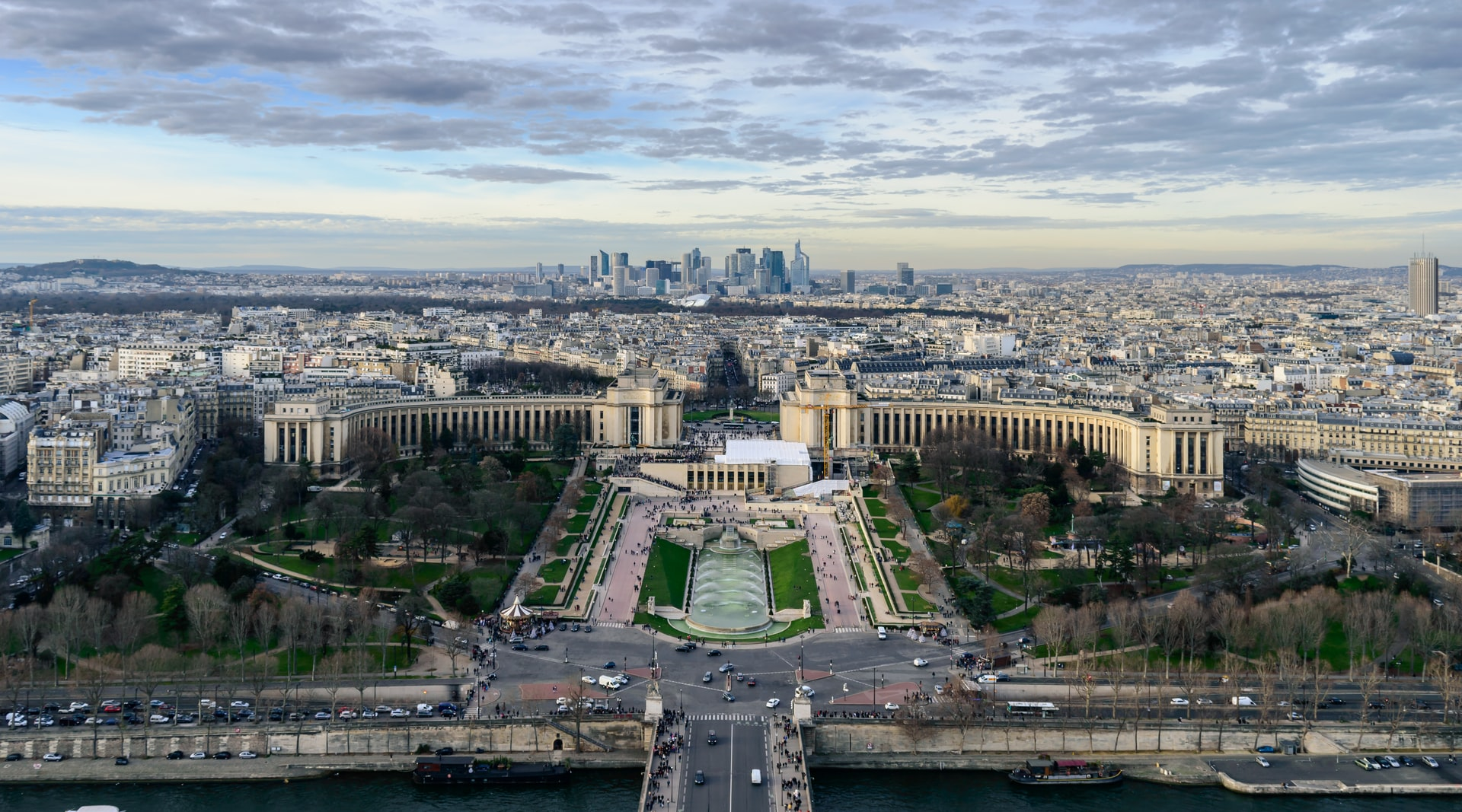 Everything you can see from the Eiffel Tower