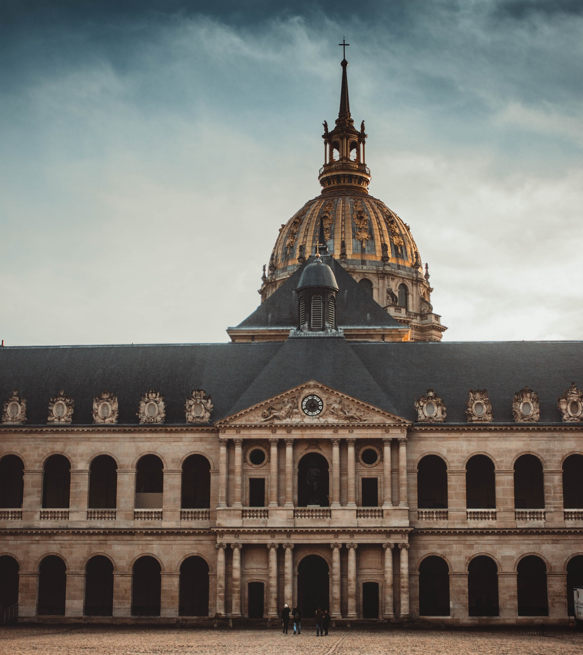 Les Invalides, formerly called the Hotel des Invalides