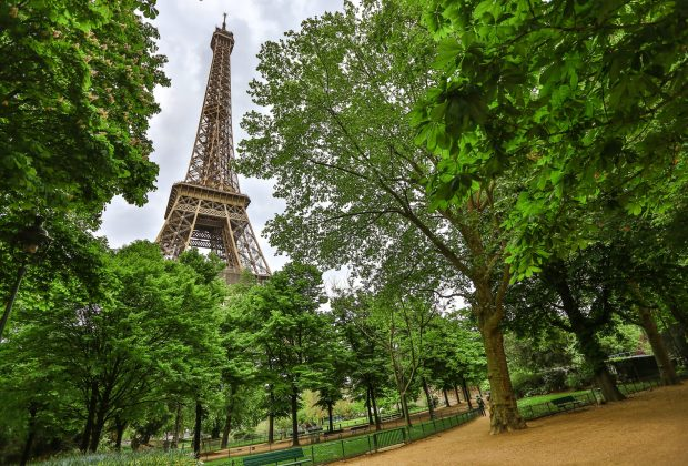 Champs de Mars for a budget picnic near the Eiffel Tower