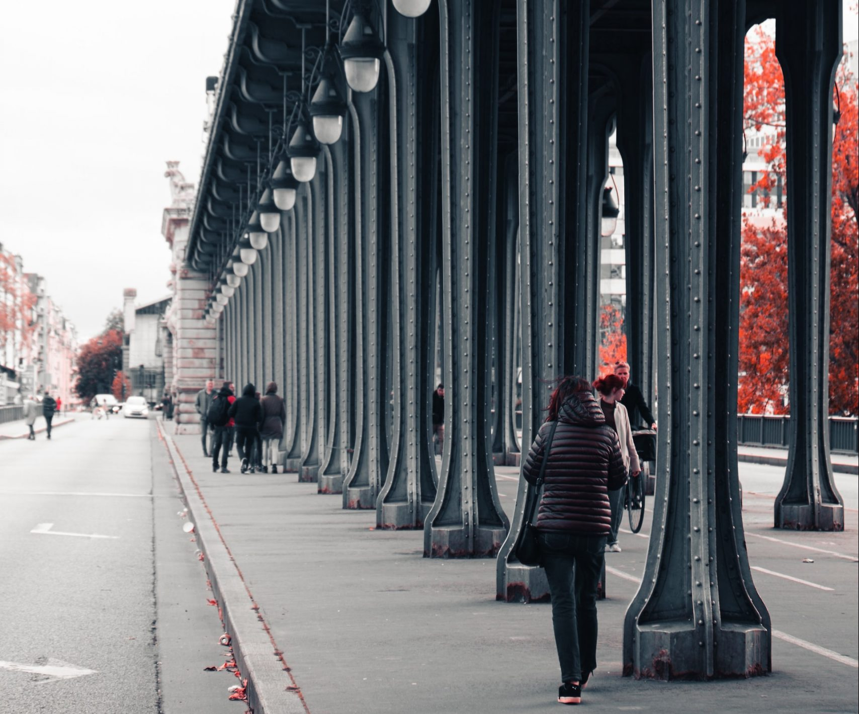 Pont de Bir-Hakeim in Paris