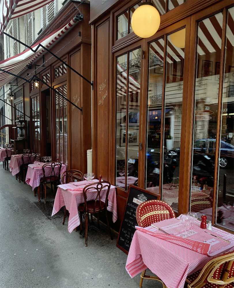 Fontaine de Mars restaurant for where to eat near the Eiffel Tower